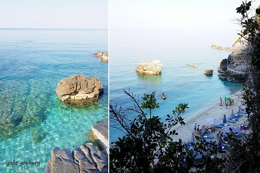 חוף מילופוטאמוס Mylopotamospelion חצי האי פיליון, יוון