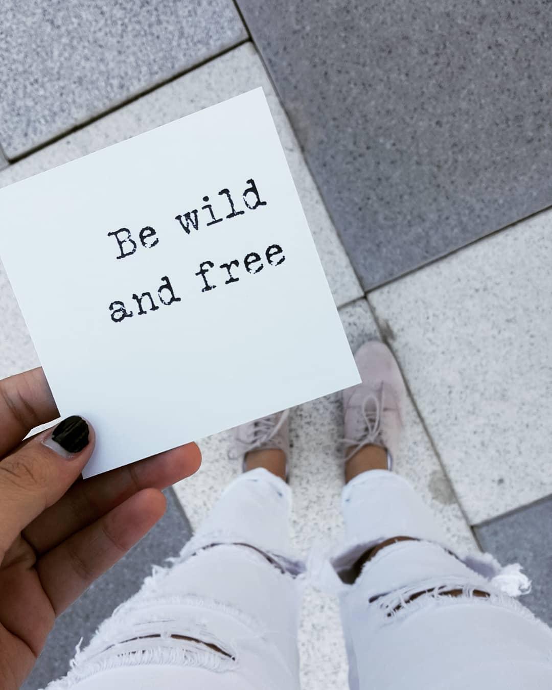 be wild and free גיל ההתבגרות